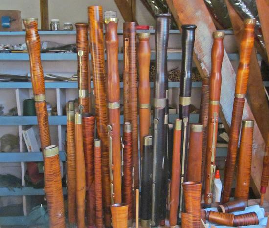 Future bassoons in waiting